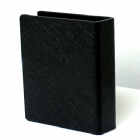 LN Leather playing card Guard (Black) by LectureNote - Trick